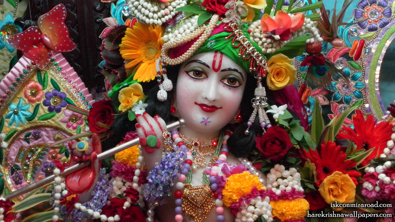 Sri Giridhari Close up Wallpaper (011) Size 1280x720 Download