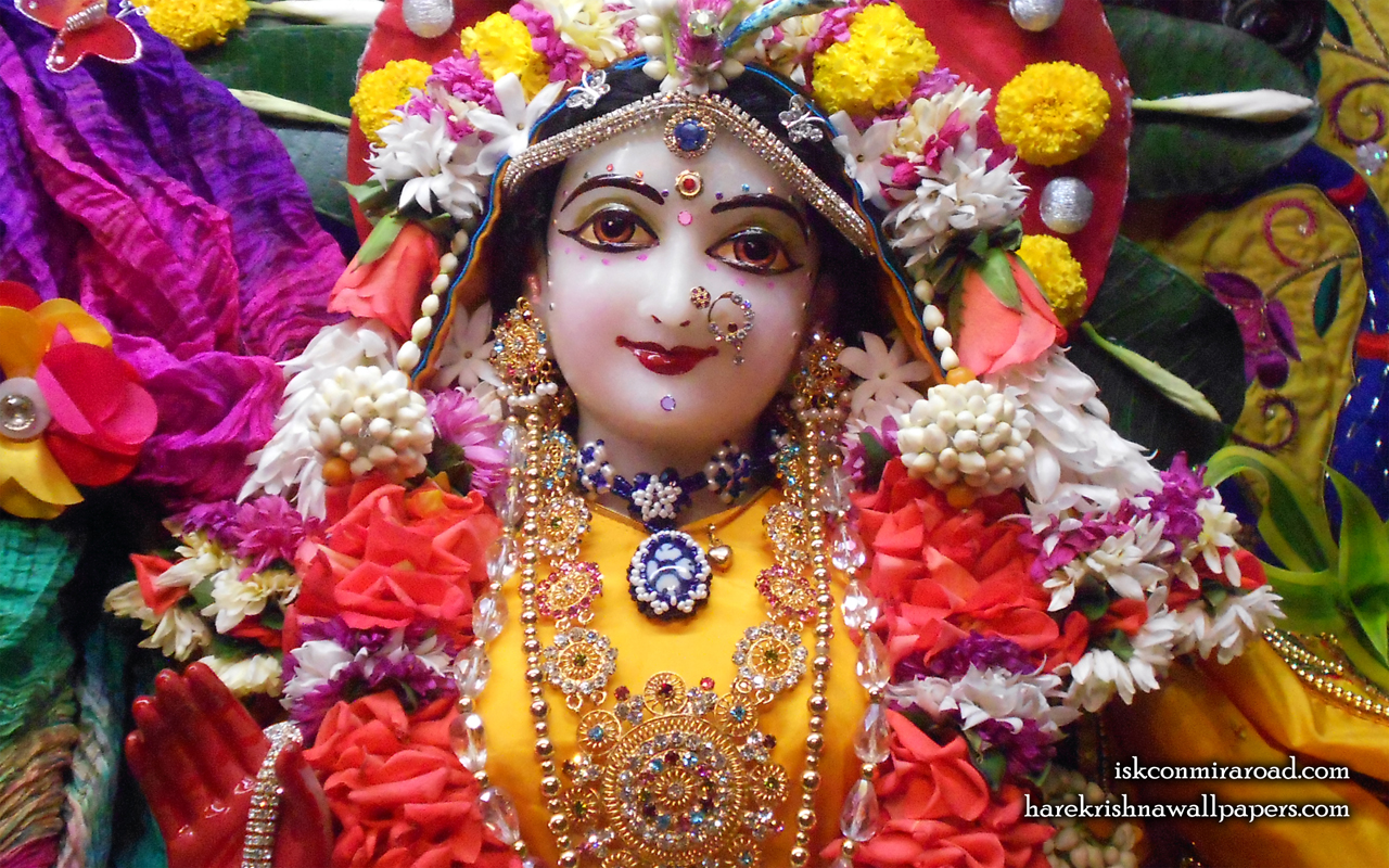 Sri Radha Close up Wallpaper (011) Size 1280x800 Download
