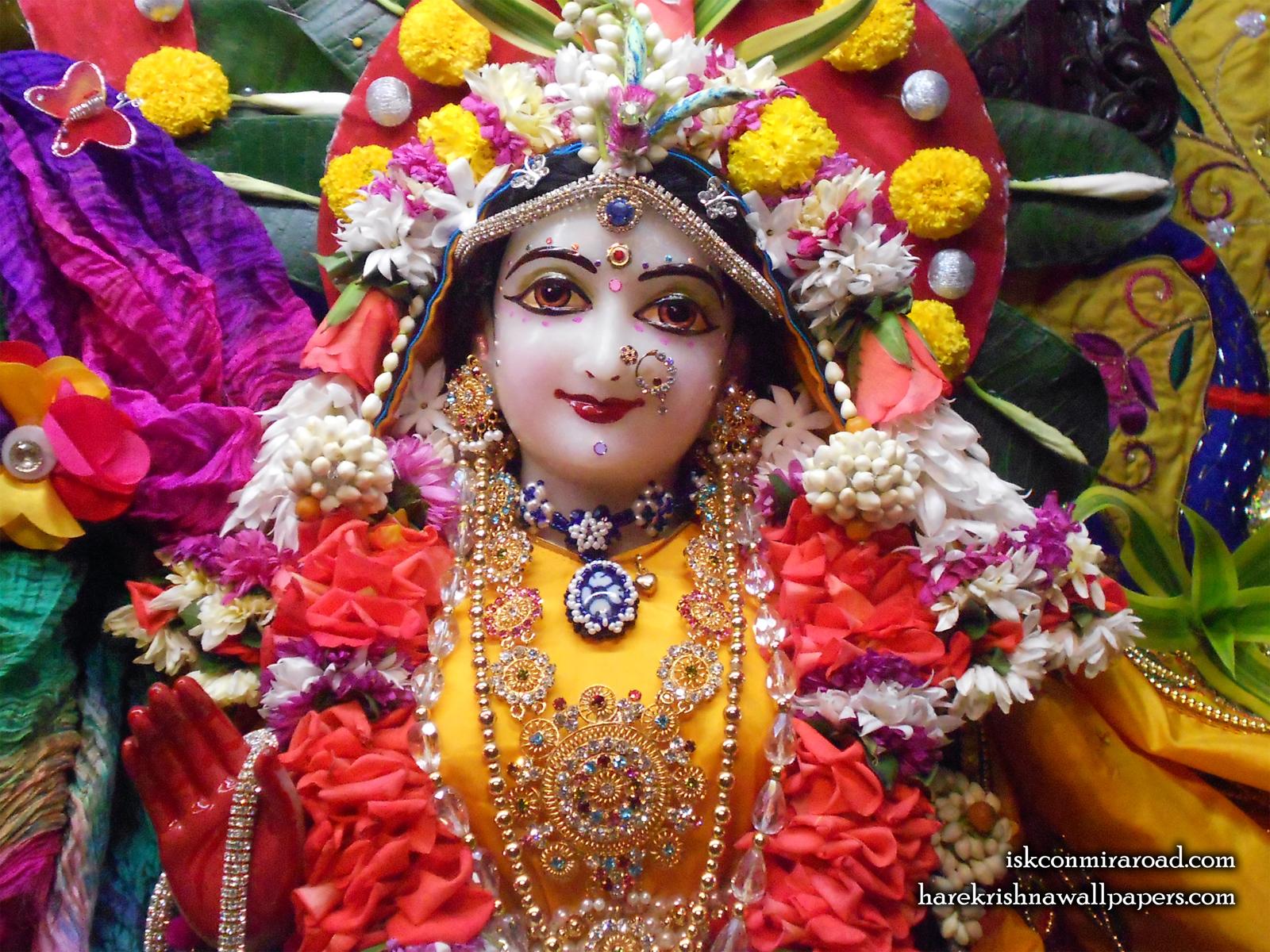 Sri Radha Close up Wallpaper (011) Size1600x1200 Download