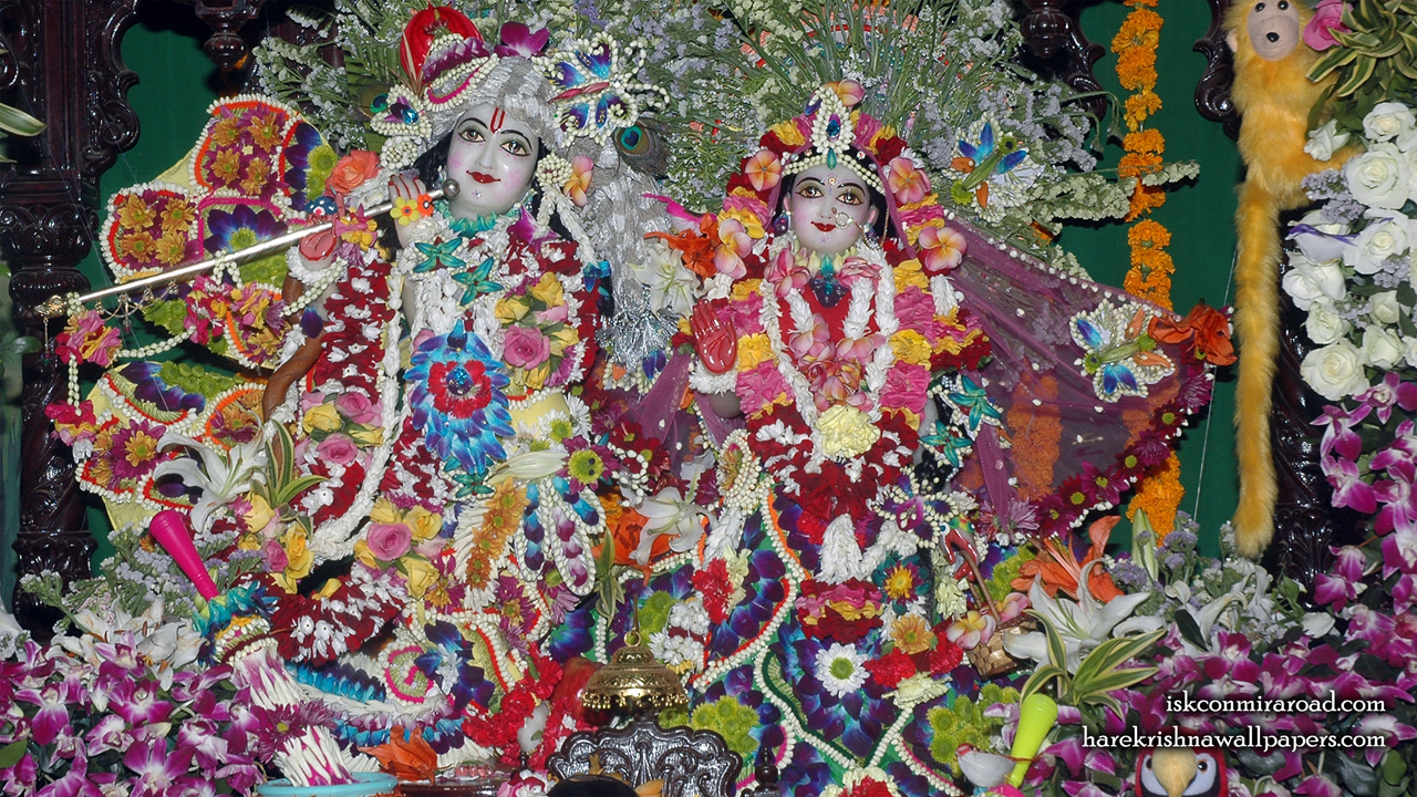Sri Sri Radha Giridhari Wallpaper (012) Size 1280x720 Download