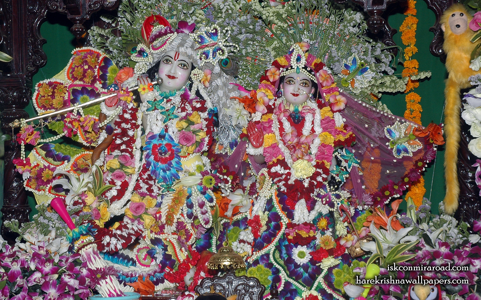 Sri Sri Radha Giridhari Wallpaper (012) Size 1920x1200 Download