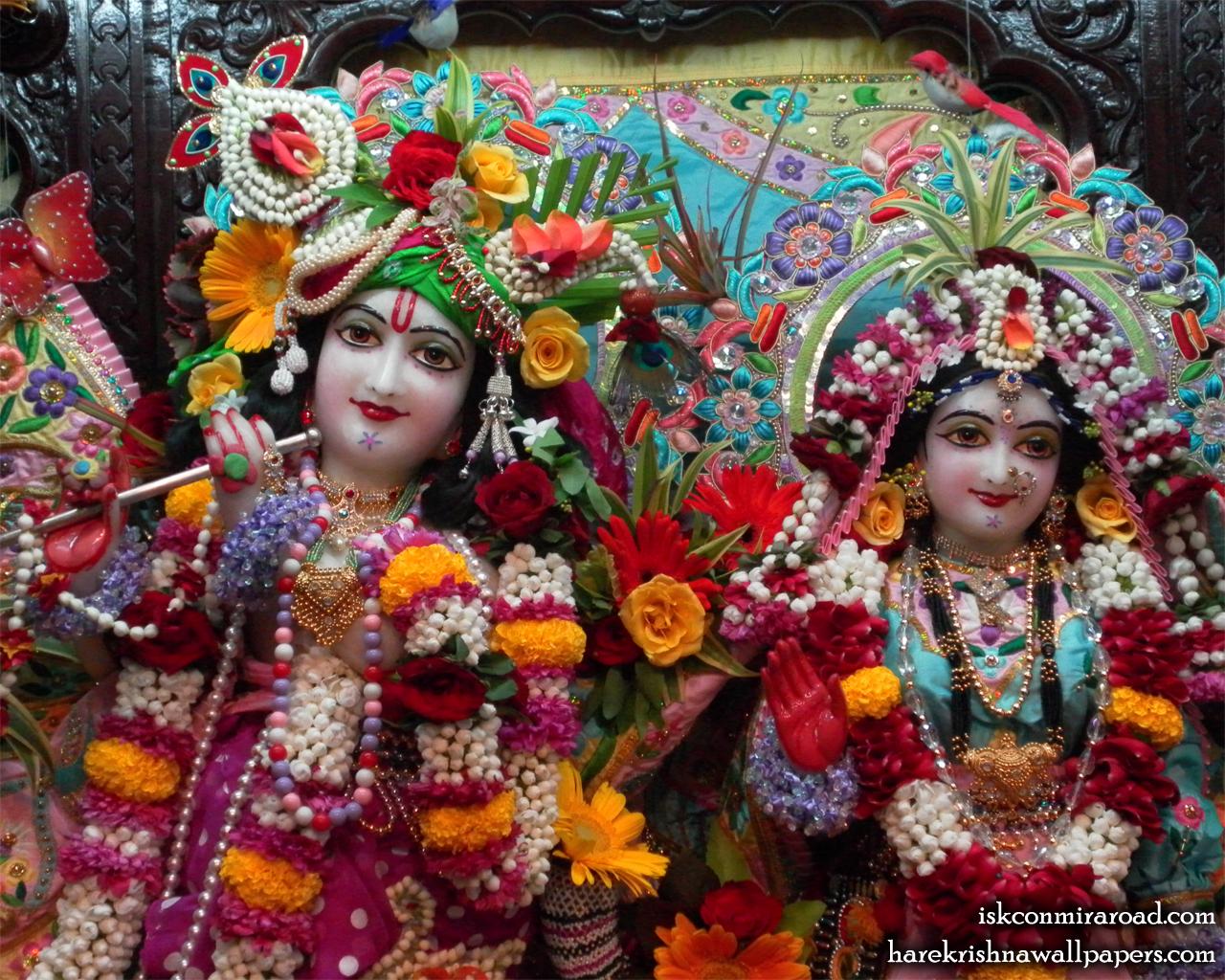 Sri Sri Radha Giridhari Close up Wallpaper (012) Size 1280x1024 Download