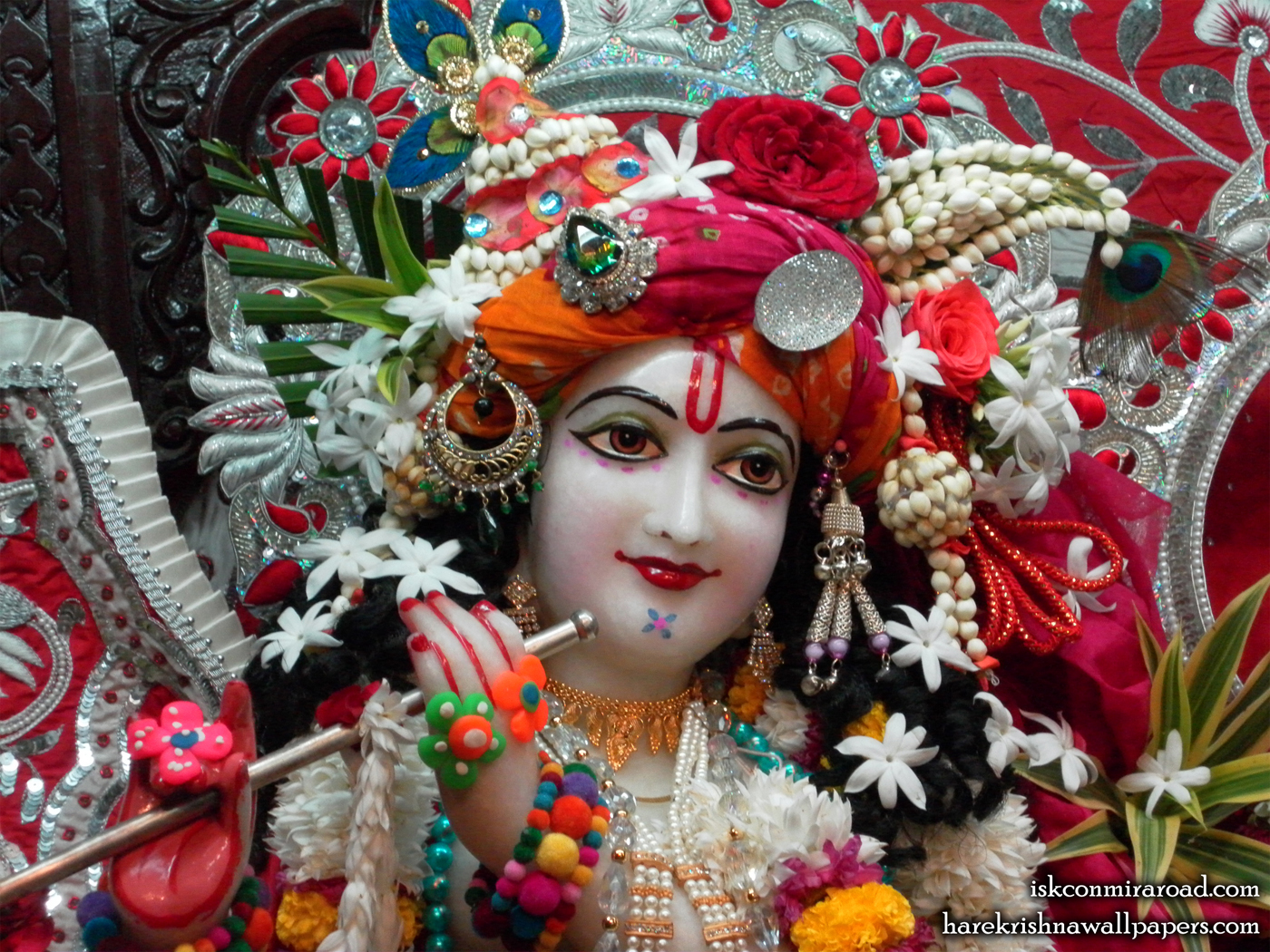 Sri Giridhari Close up Wallpaper (013) Size 1400x1050 Download