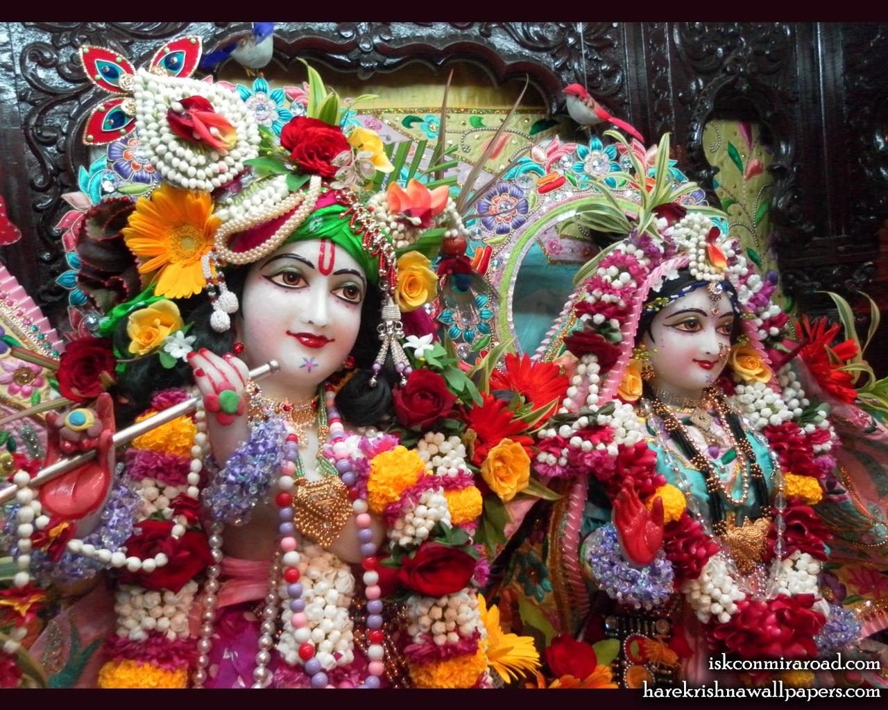 Sri Sri Radha Giridhari Close up Wallpaper (013) Size 1280x1024 Download