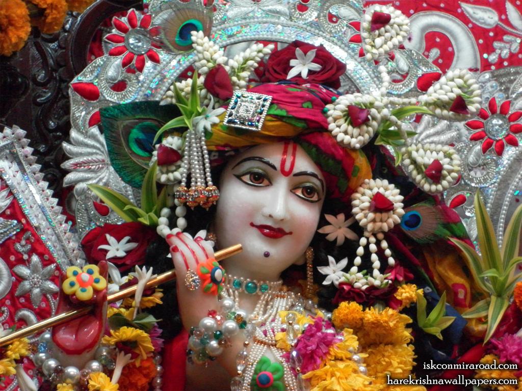 Sri Giridhari Close up Wallpaper (014) Size 1024x768 Download