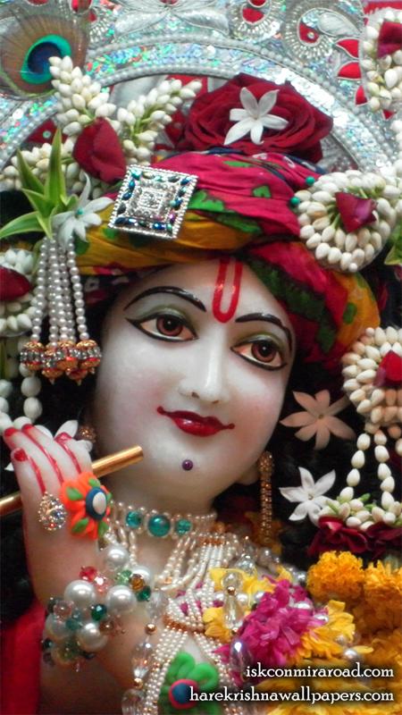 Sri Giridhari Close up Wallpaper (014) Size 450x800 Download