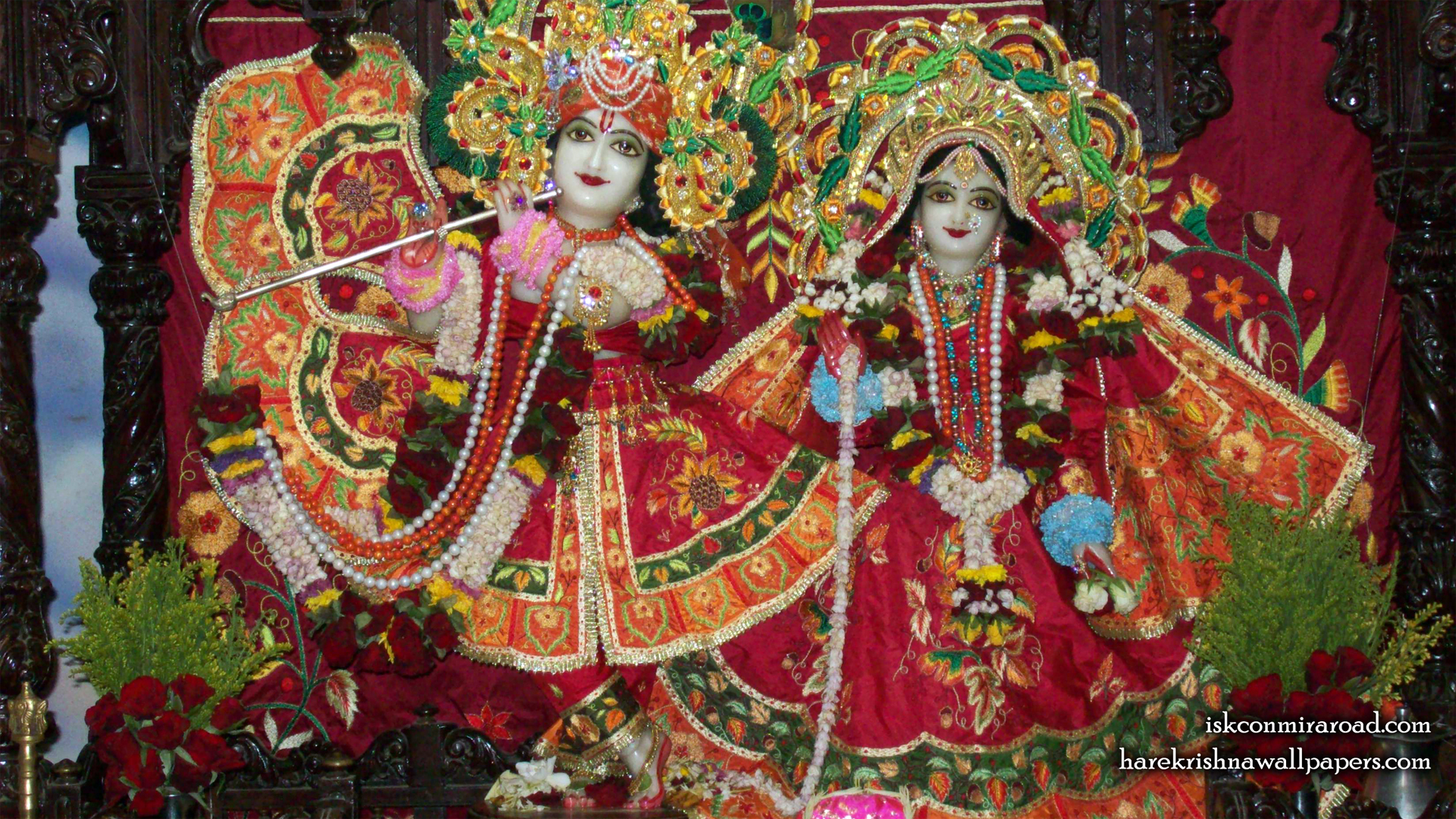 Sri Sri Radha Giridhari Wallpaper (014) Size 1920x1080 Download