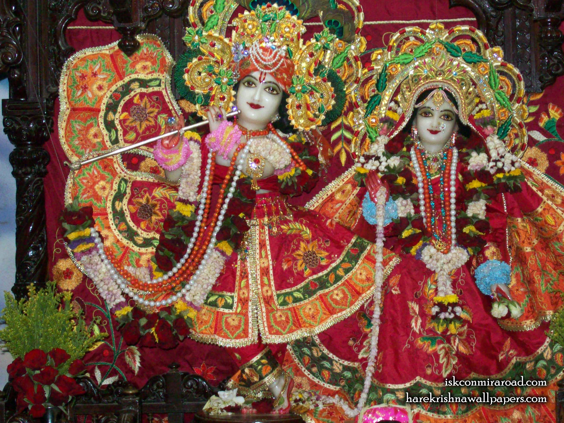 Sri Sri Radha Giridhari Wallpaper (014) Size 1920x1440 Download