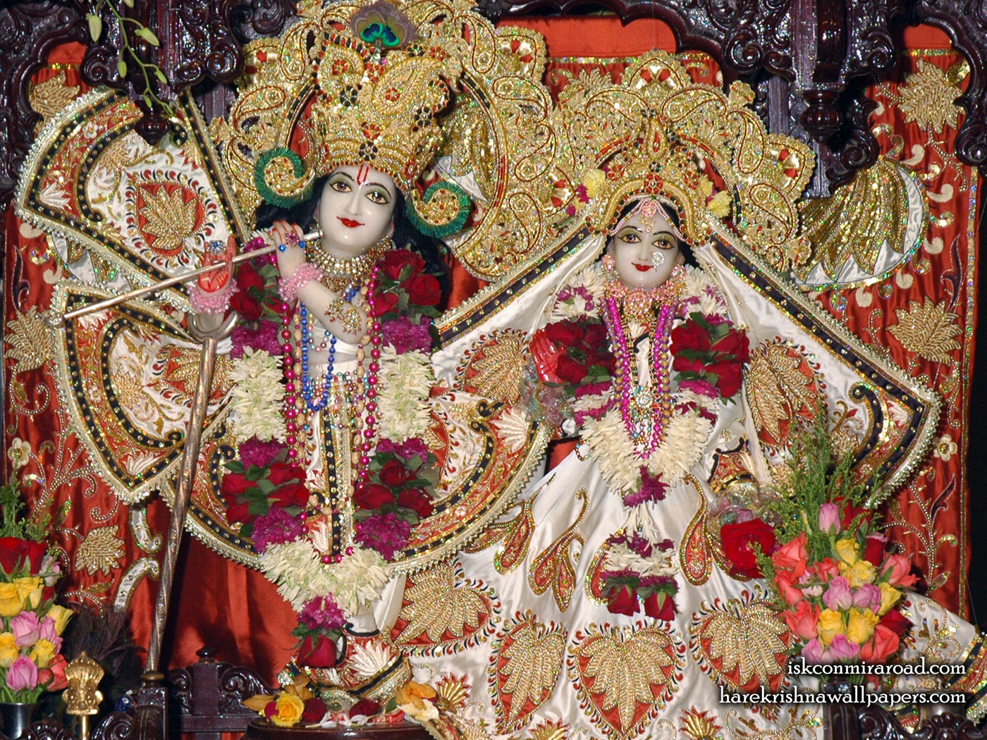Sri Sri Radha Giridhari Wallpaper (015) Size 1400x1050 Download