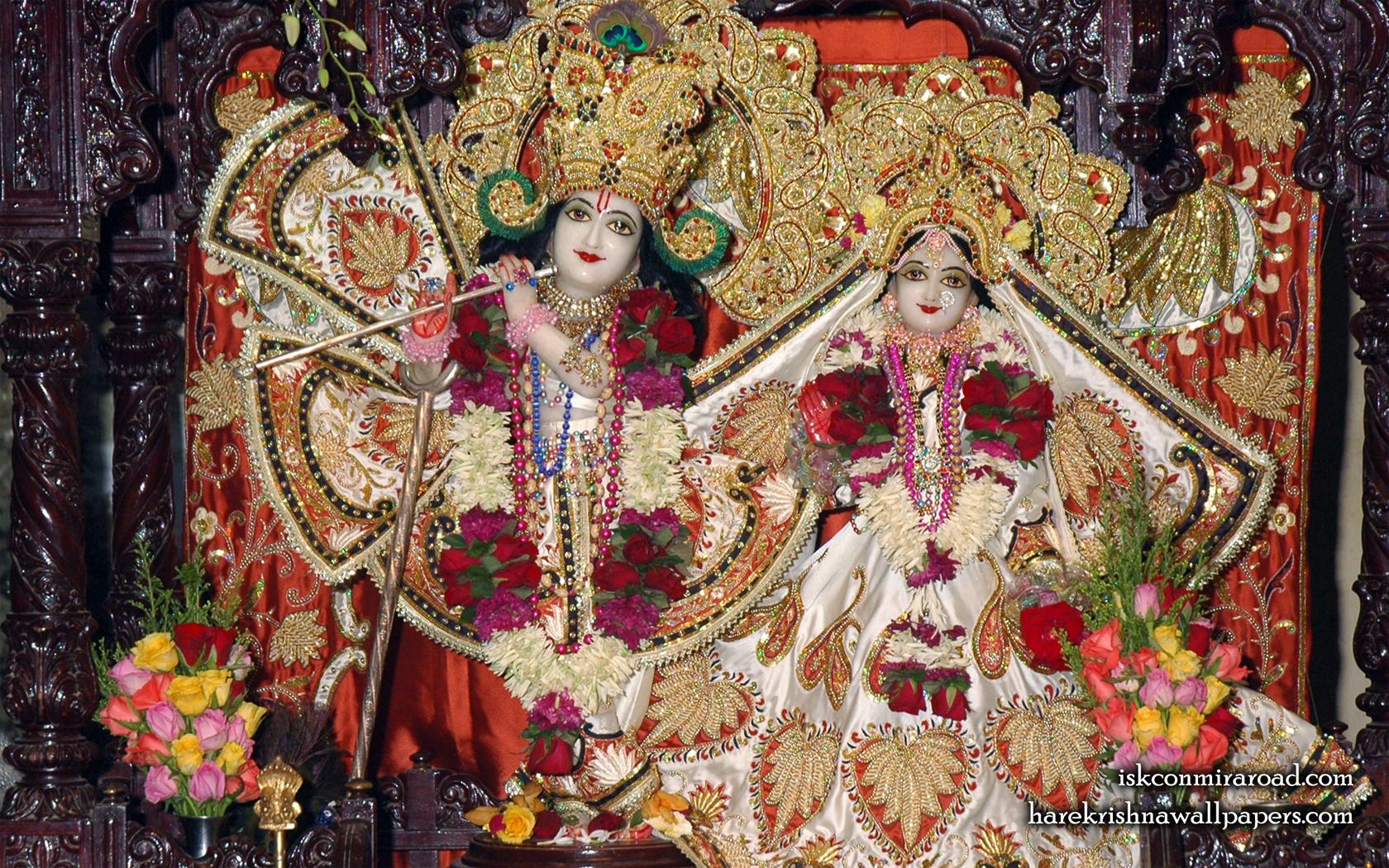 Sri Sri Radha Giridhari Wallpaper (015) Size 1680x1050 Download