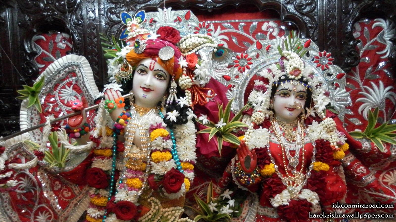 Sri Sri Radha Giridhari Close up Wallpaper (016) Size 1600x900 Download