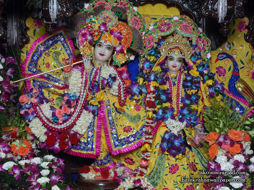 Sri Sri Radha Giridhari Wallpaper (017) Size 1024x768 Download