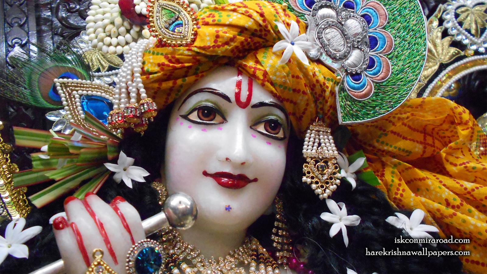 Sri Giridhari Close up Wallpaper (018) Size 1600x900 Download