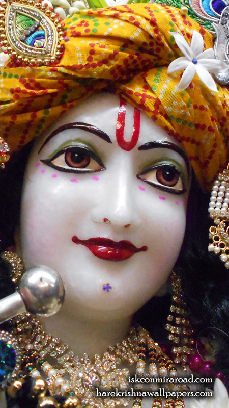 Sri Giridhari Close up Wallpaper (018) Size 450x800 Download