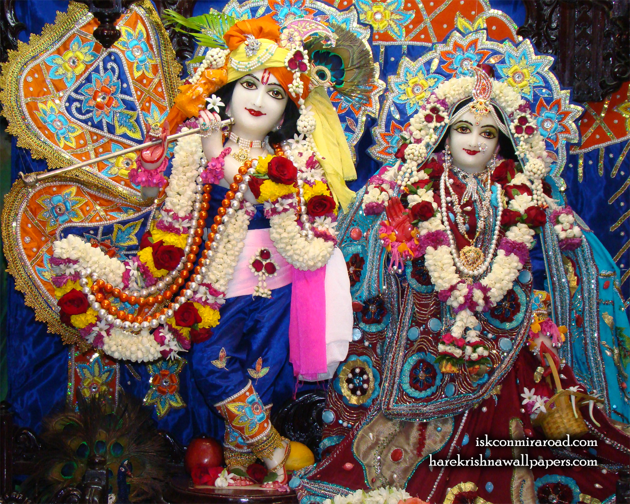 Sri Sri Radha Giridhari Wallpaper (018) Size 1280x1024 Download
