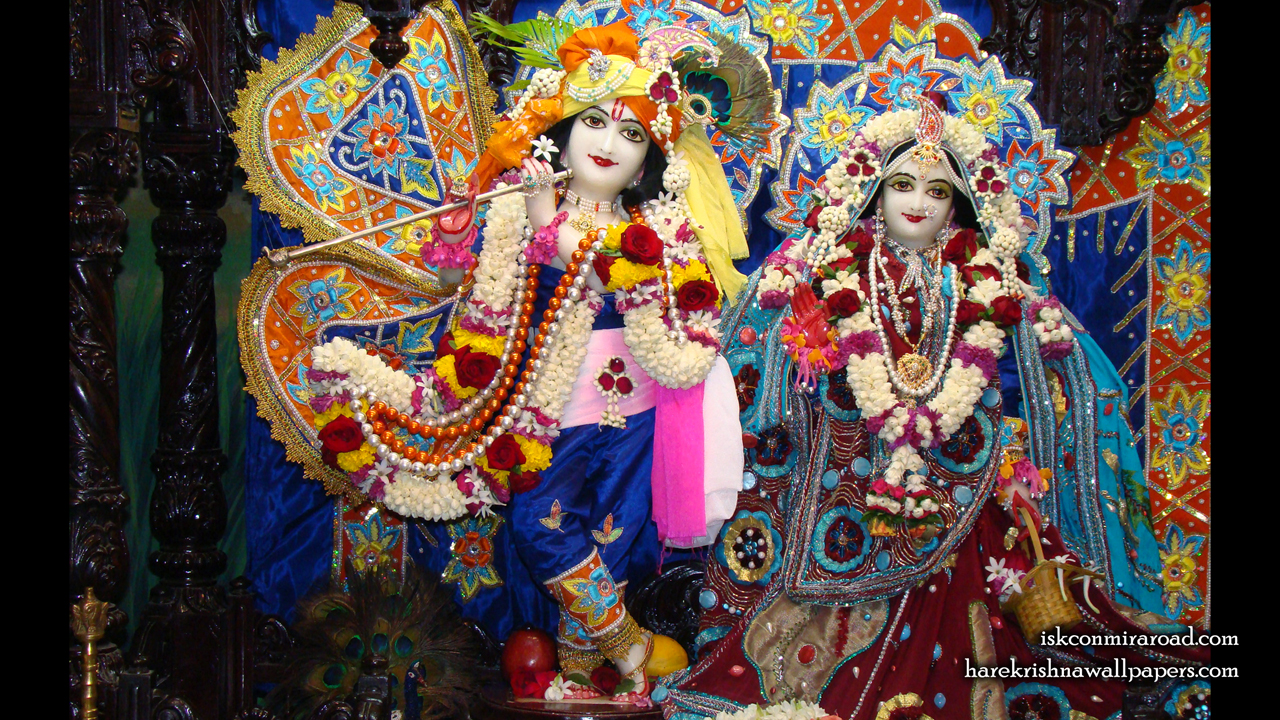 Sri Sri Radha Giridhari Wallpaper (018) Size 1280x720 Download