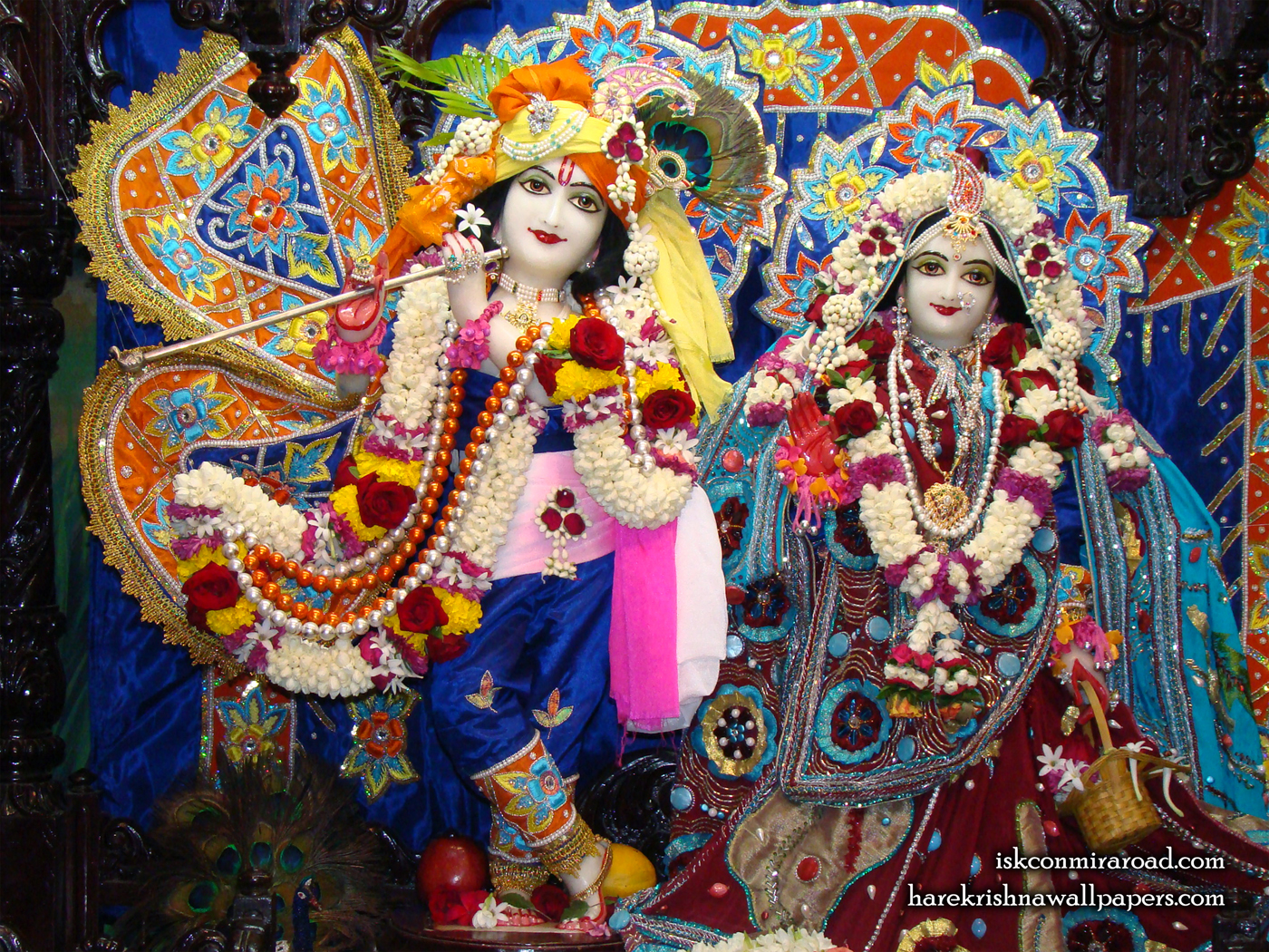 Sri Sri Radha Giridhari Wallpaper (018) Size 1400x1050 Download