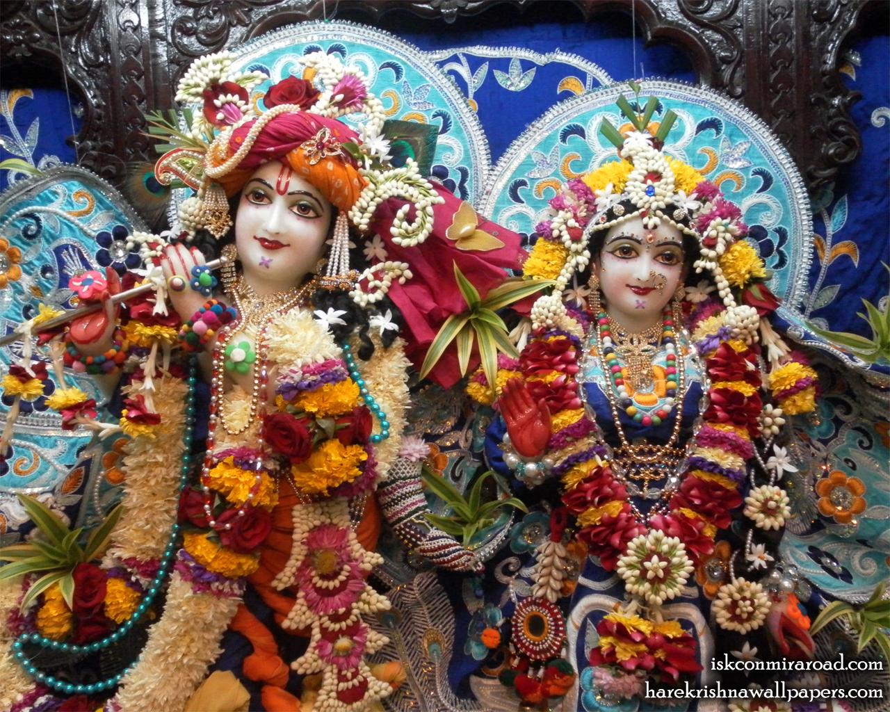 Sri Sri Radha Giridhari Close up Wallpaper (018) Size 1280x1024 Download