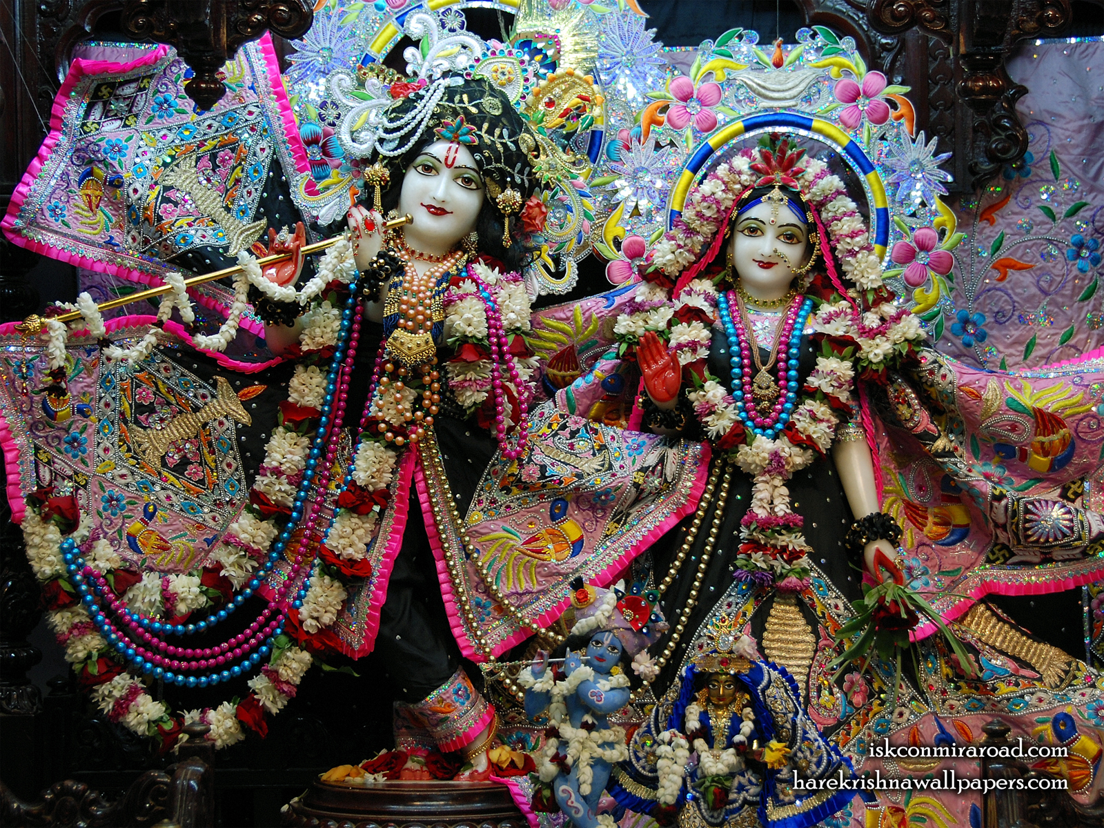 Sri Sri Radha Giridhari Wallpaper (019) Size1600x1200 Download