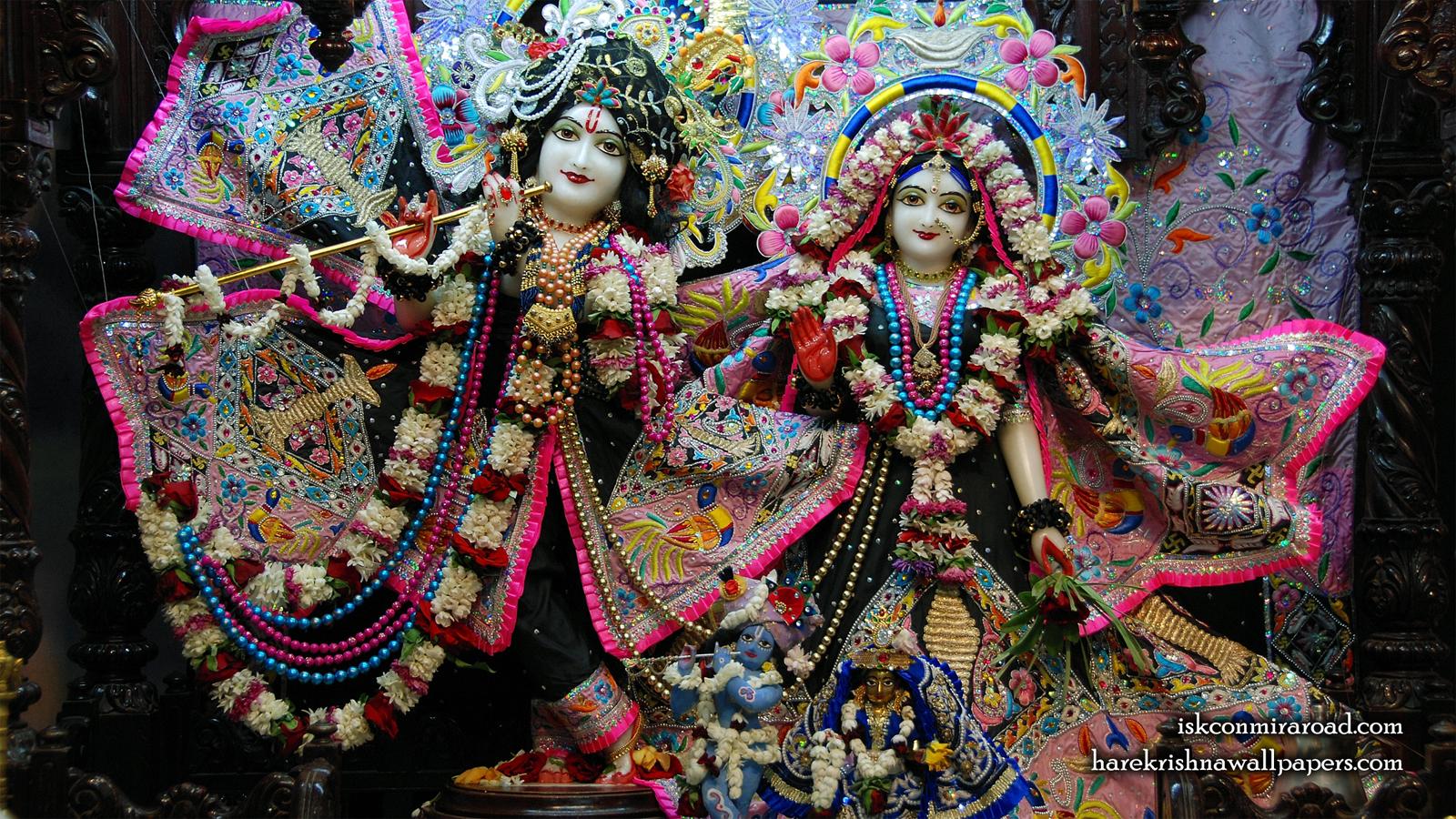 Sri Sri Radha Giridhari Wallpaper (019) Size 1600x900 Download