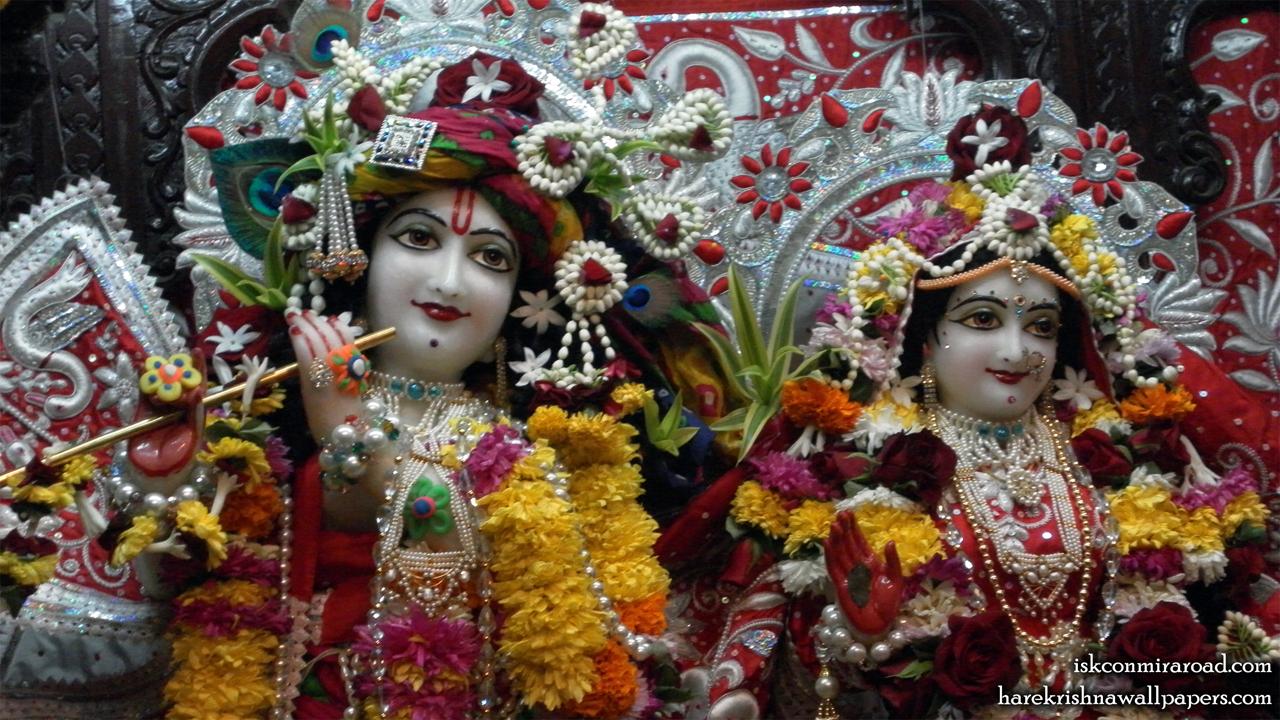 Sri Sri Radha Giridhari Close up Wallpaper (022) Size 1280x720 Download
