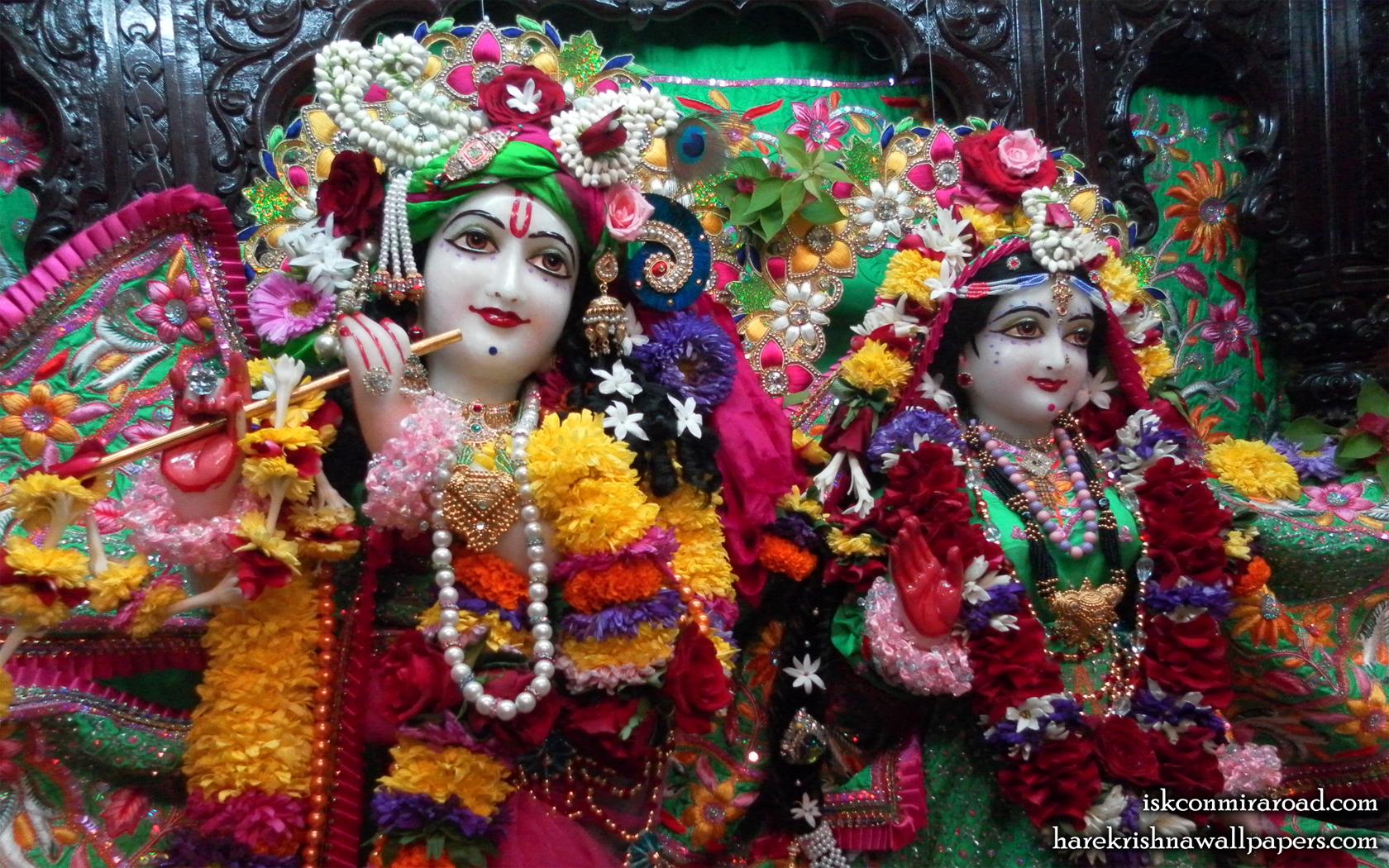 Sri Sri Radha Giridhari Close up Wallpaper (024) Size 1680x1050 Download