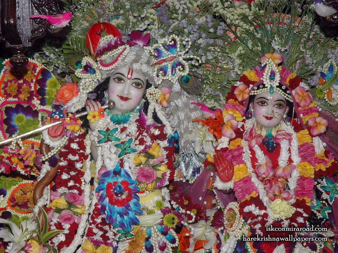 Sri Sri Radha Giridhari Close up Wallpaper (026) Size 1152x864 Download