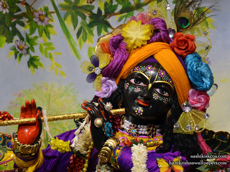 Sri Madan Gopal Close up Wallpaper (001)