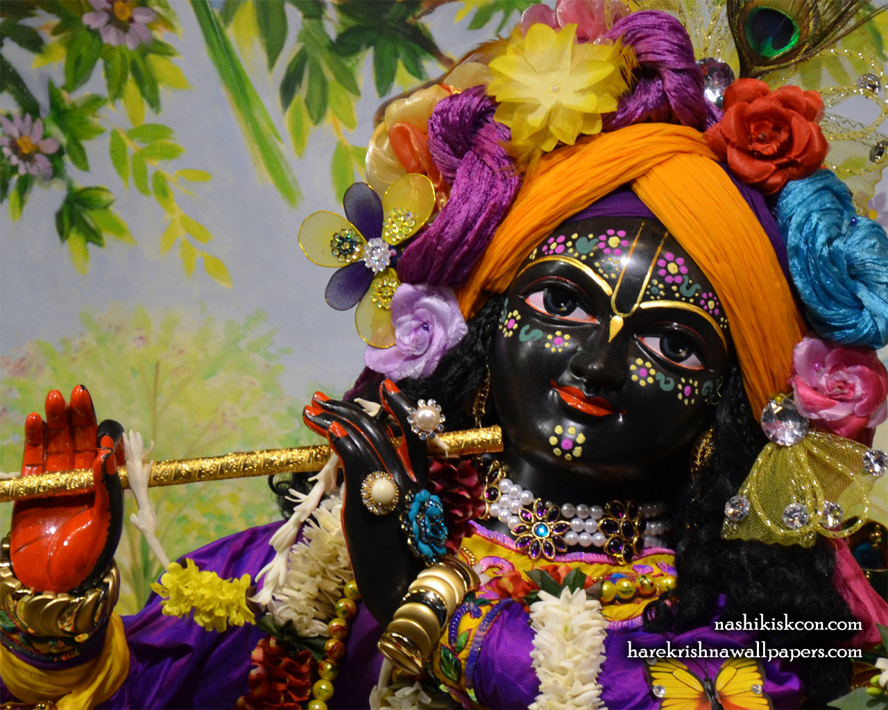 Sri Madan Gopal Close up Wallpaper (001) Size 1280x1024 Download