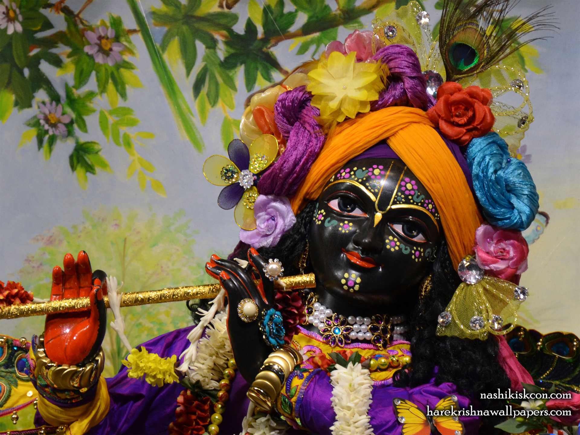 Sri Madan Gopal Close up Wallpaper (001) Size 1920x1440 Download