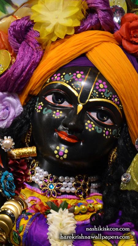 Sri Madan Gopal Close up Wallpaper (001) Size 450x800 Download