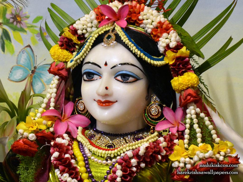 Sri Radha Close up Wallpaper (001) Size 1024x768 Download