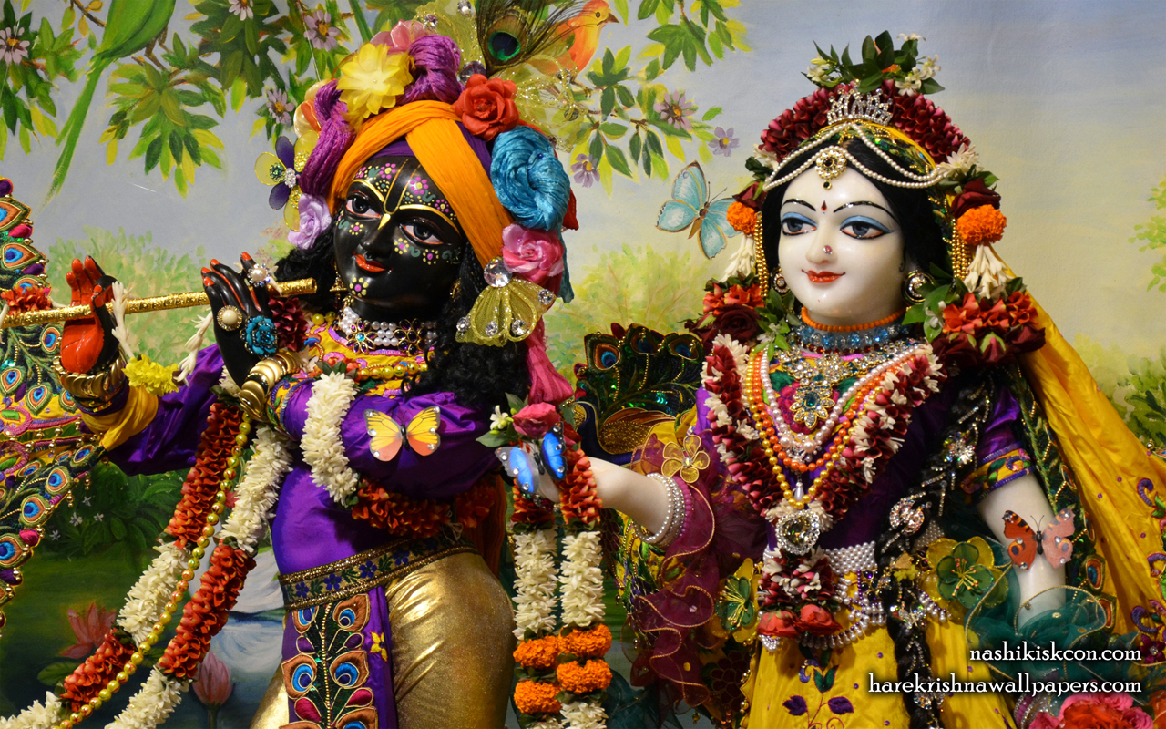 Sri Sri Radha Madan Gopal Close up Wallpaper (001) Size 1280x800 Download