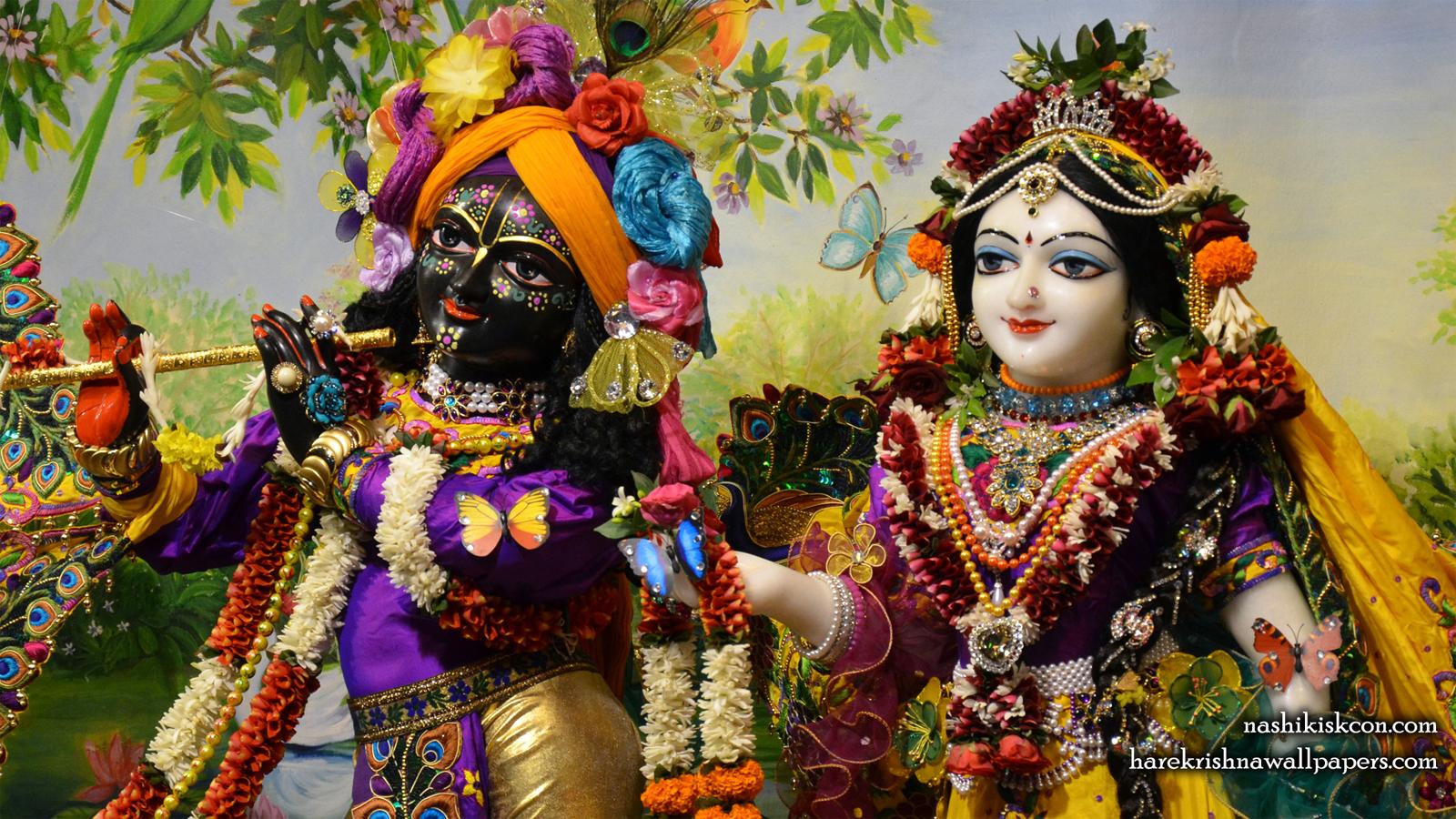 Sri Sri Radha Madan Gopal Close up Wallpaper (001) Size 1600x900 Download