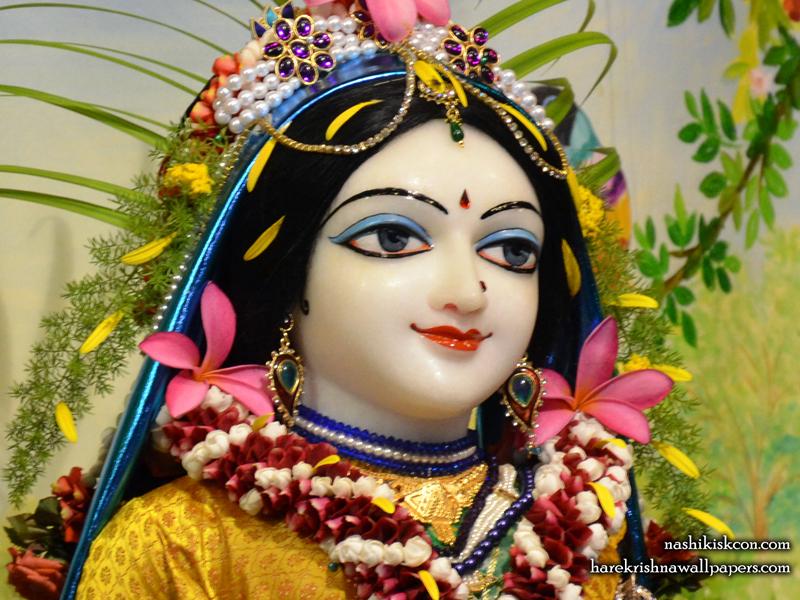 Sri Radha Close up Wallpaper (002) Size 800x600 Download
