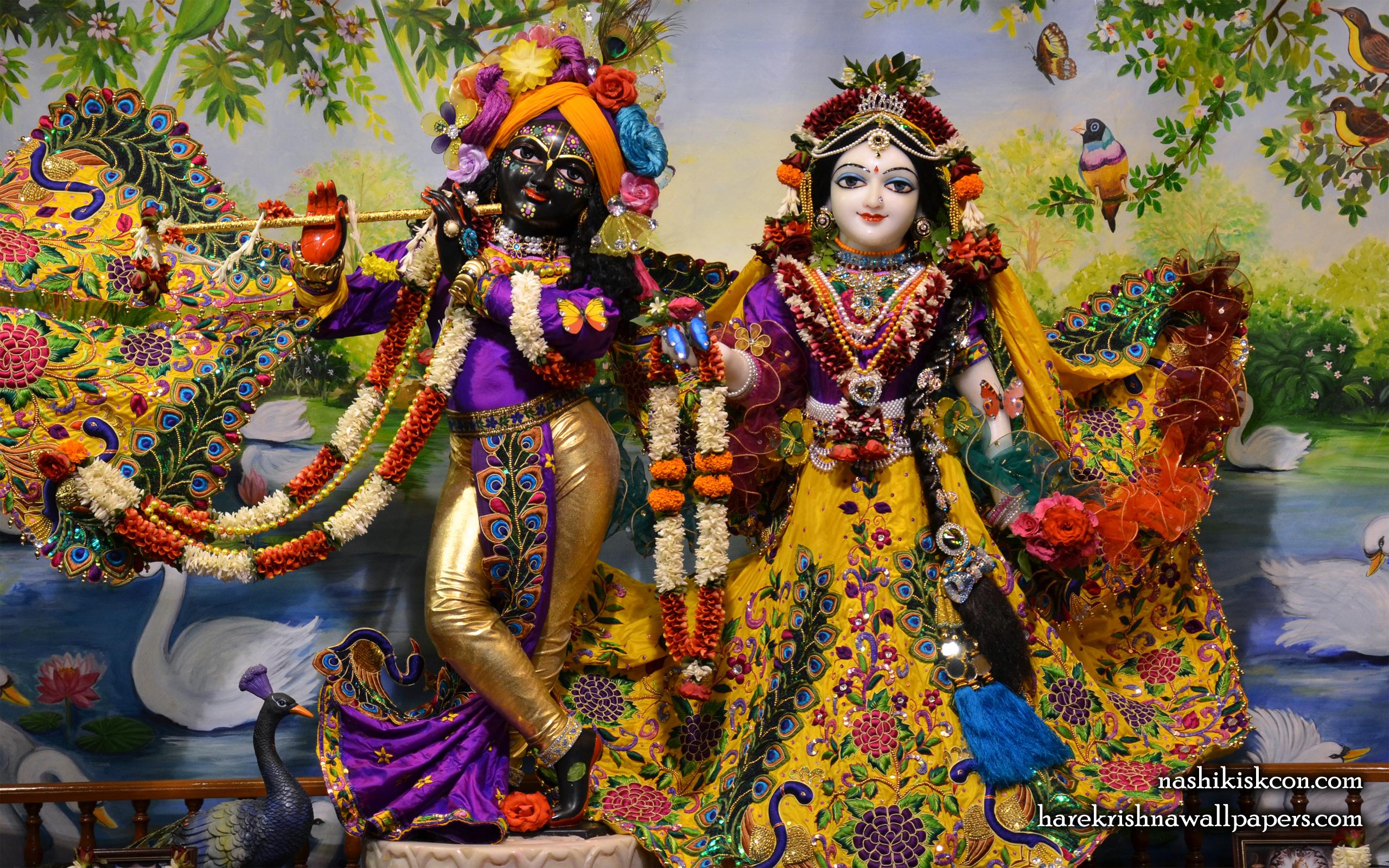 Sri Sri Radha Madan Gopal Wallpaper (002) Size 2560x1600 Download