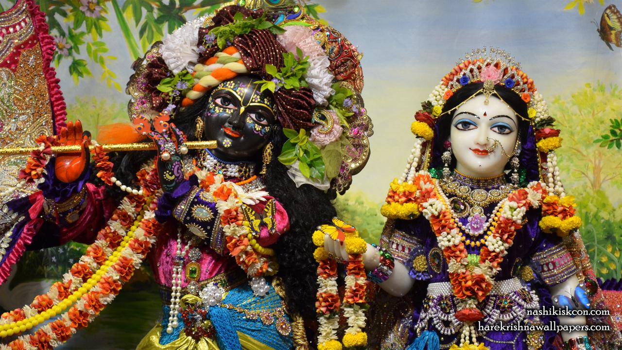 Sri Sri Radha Madan Gopal Close up Wallpaper (002) Size1280x720 Download