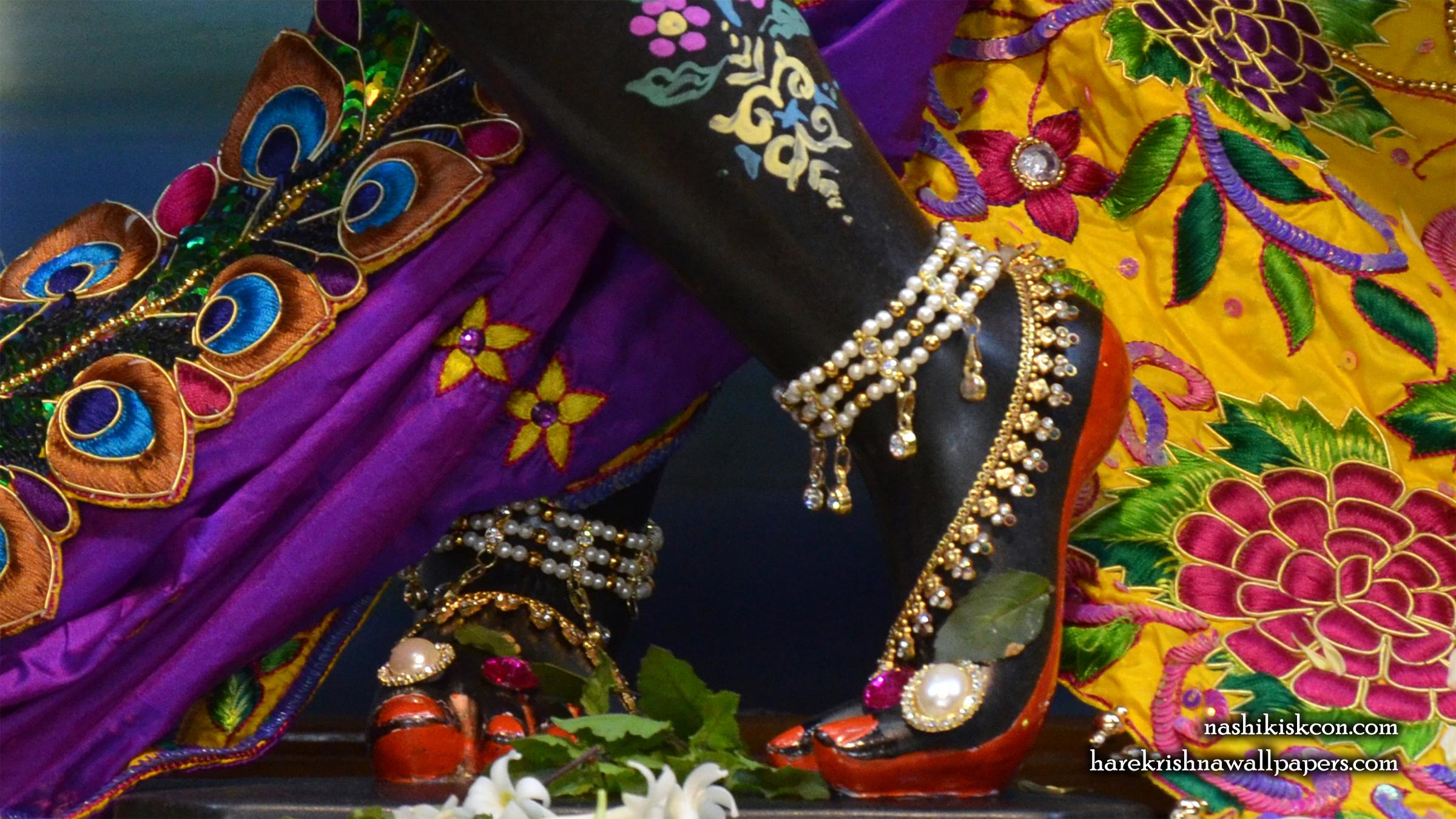 Sri Madan Gopal Feet Wallpaper (003) Size 2400x1350 Download