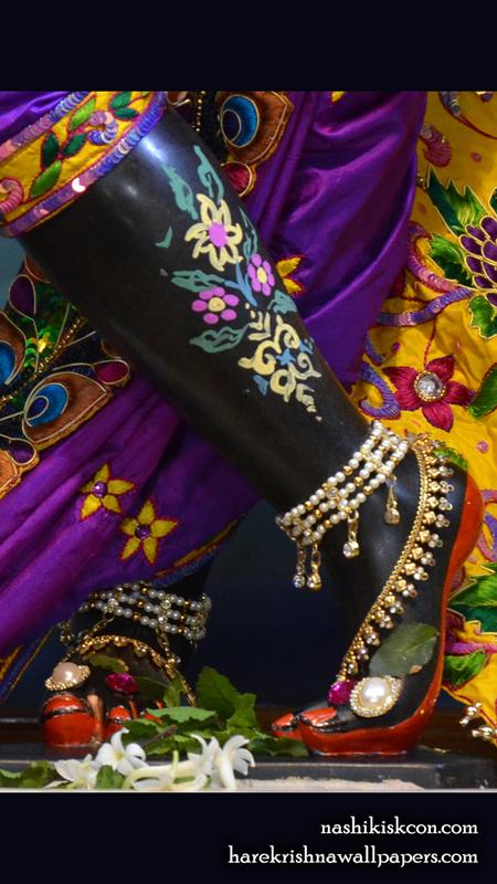 Sri Madan Gopal Feet Wallpaper (003) Size 450x800 Download