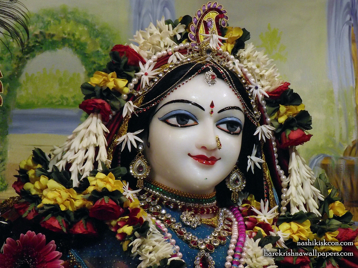 Sri Radha Close up Wallpaper (003) Size1200x900 Download