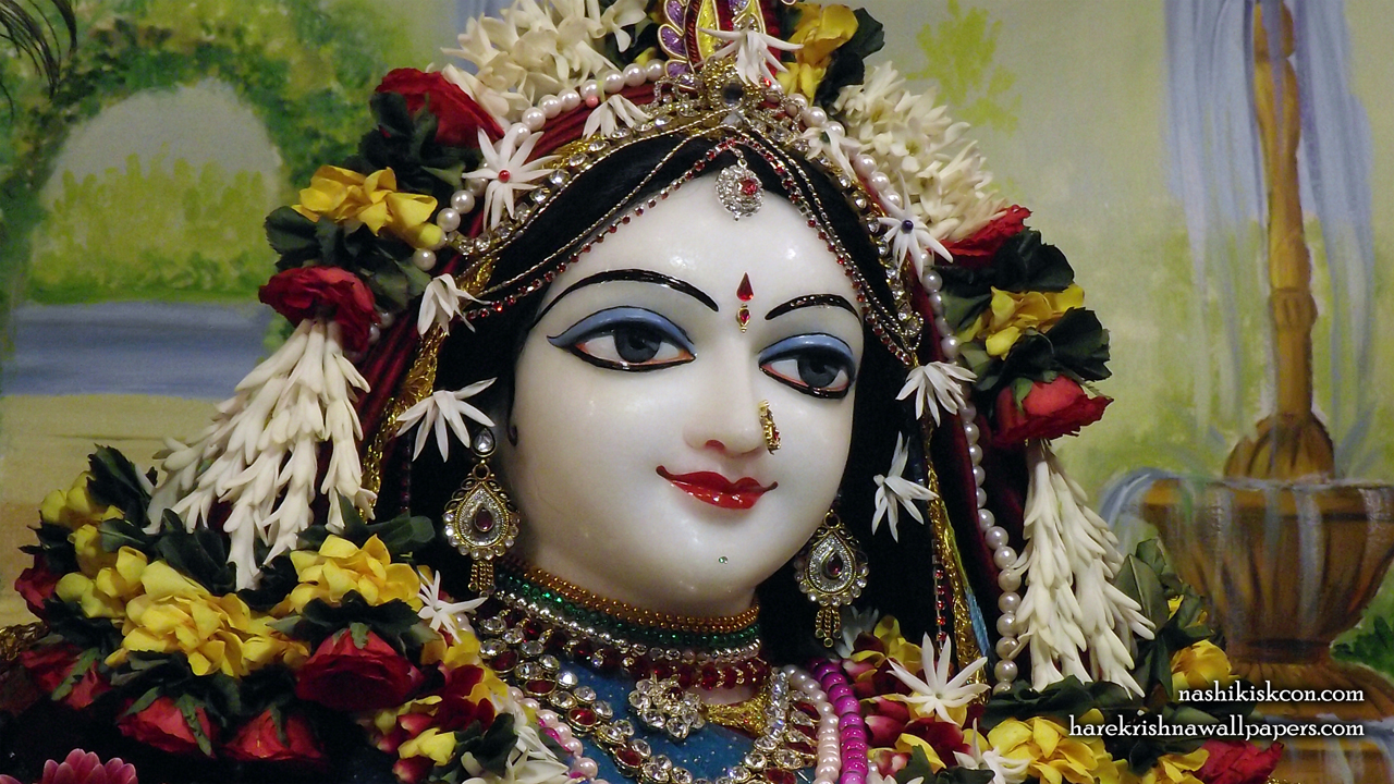 Sri Radha Close up Wallpaper (003) Size1280x720 Download