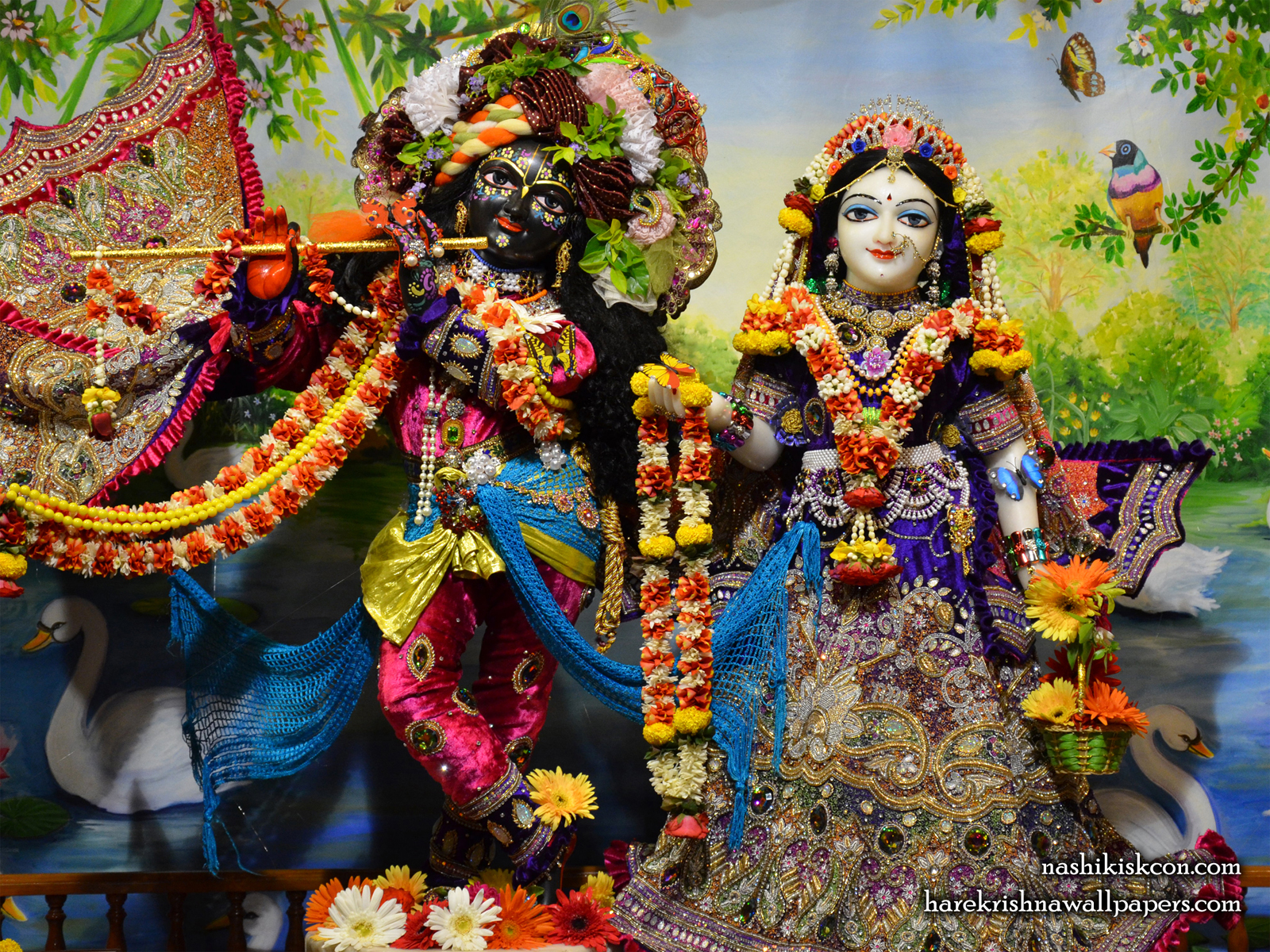 Sri Sri Radha Madan Gopal Wallpaper (003) Size1600x1200 Download