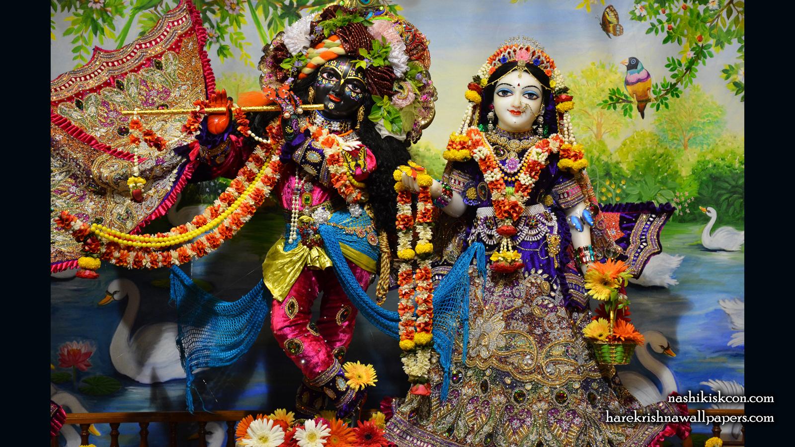 Sri Sri Radha Madan Gopal Wallpaper (003) Size 1600x900 Download