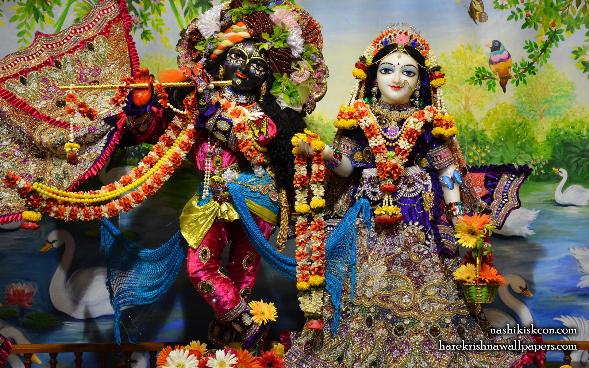 Sri Sri Radha Madan Gopal Wallpaper (003) Size 1920x1200 Download