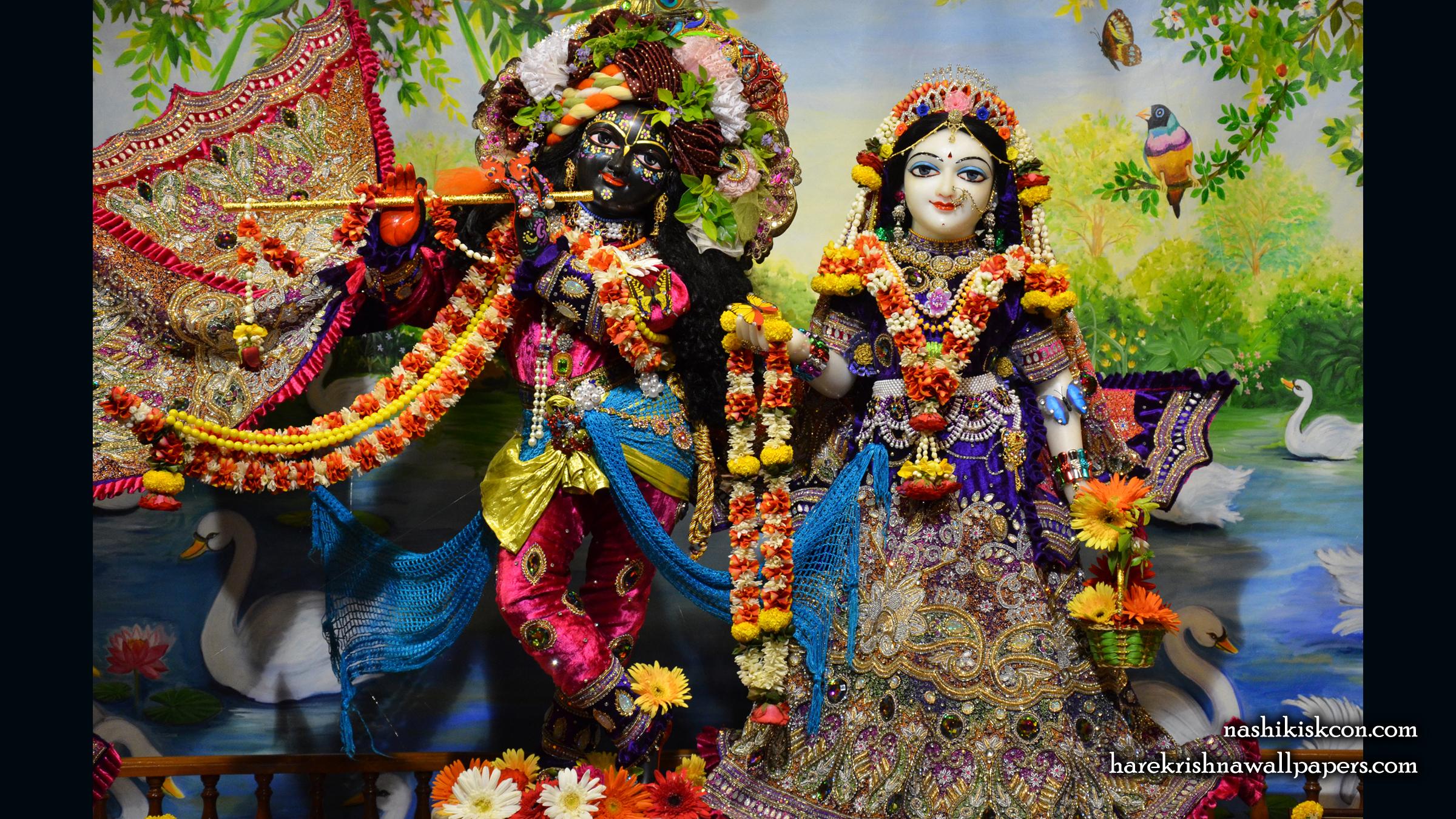 Sri Sri Radha Madan Gopal Wallpaper (003) Size 2400x1350 Download