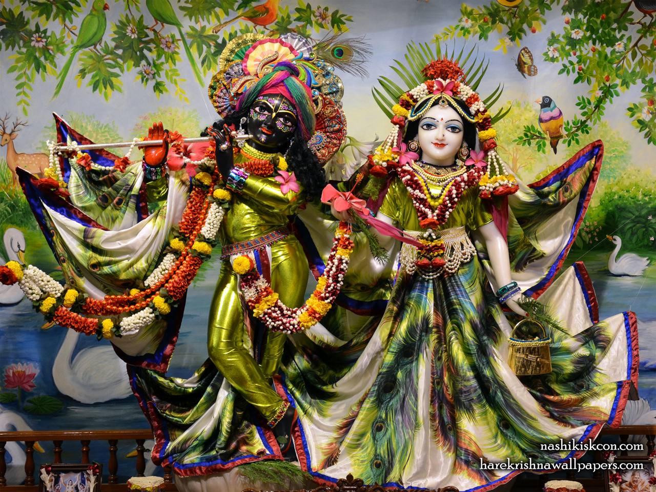 Sri Sri Radha Madan Gopal Wallpaper (004) Size 1280x960 Download