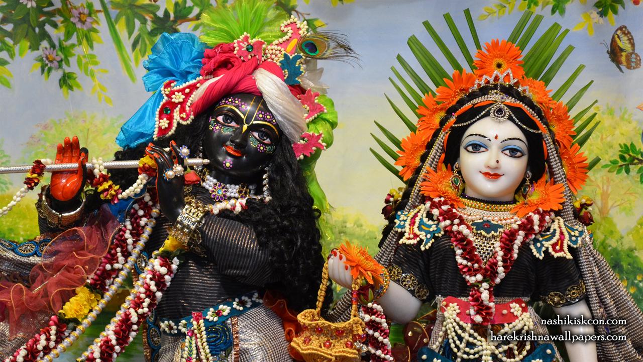 Sri Sri Radha Madan Gopal Close up Wallpaper (004) Size1280x720 Download