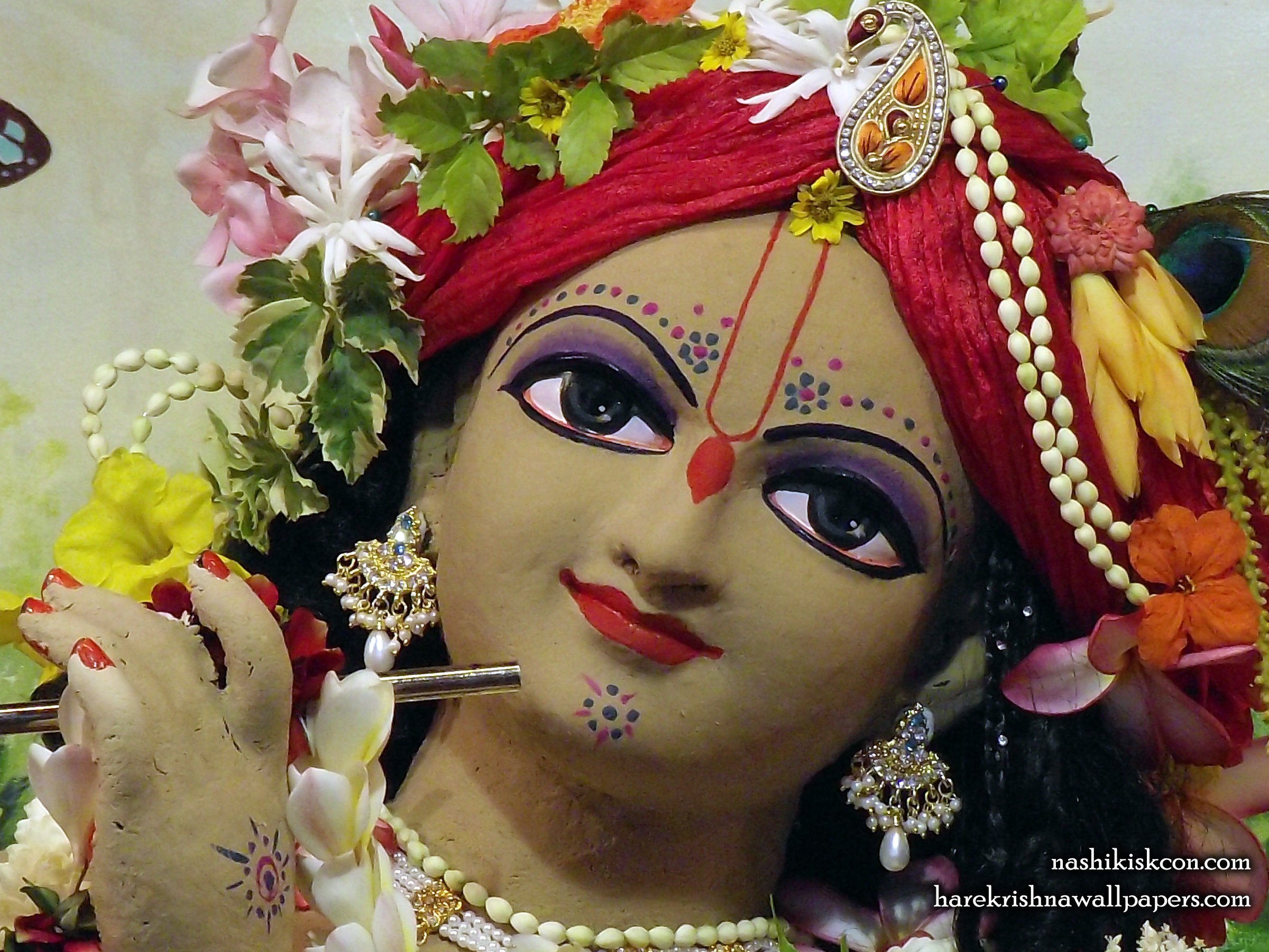 Sri Madan Gopal Close up Wallpaper (005) Size 2400x1800 Download