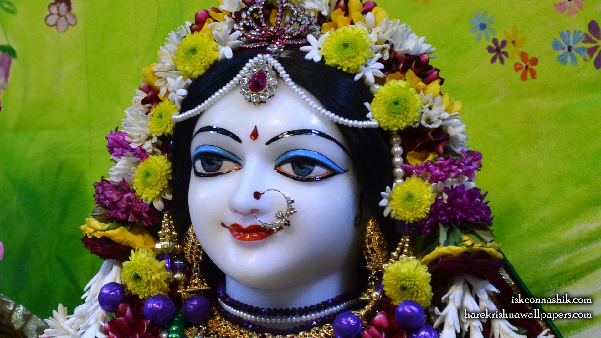 Sri Radha Close up Wallpaper (005) Size 1920x1080 Download