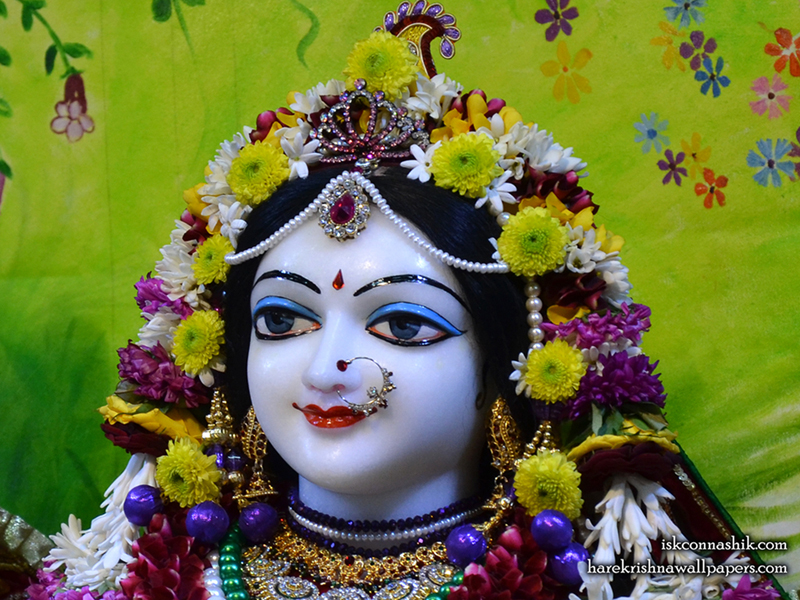 Sri Radha Close up Wallpaper (005) Size 800x600 Download